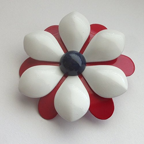 Red White and Blue Brooch