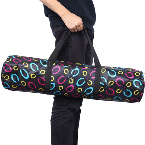 Durable Waterproof Yoga Pilates Mat Case Nylon Bag Carriers Pouch