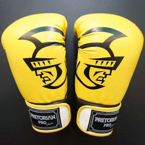 MUAY THAI TWINS BOXING RED PUNCHING GLOVES TKD MMA MEN FIGHTING BOXING GLOVES