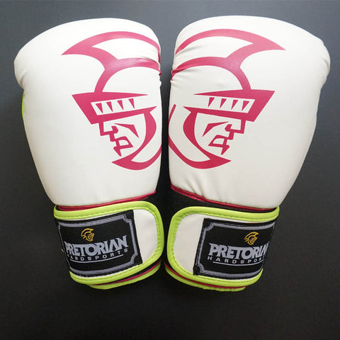 RED PUNCHING BOXING GLOVES MMA MEN GLOVES