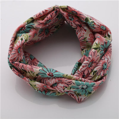 Ethnic Floral  Stretch Headband For Women