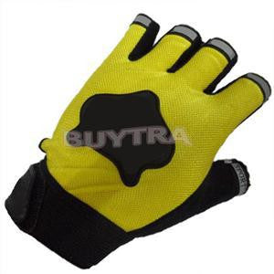 Sports durable Bicycle Cycling Sports Antiskid Silicone Gel Half Finger Gloves