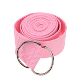 1Pc 183 * 3.8cm Yoga Belt Strap Stretch Strap Pilates Belt Waist Arms Leg Yoga Exercise Fitness Gym Rope for Man Women