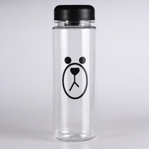 Multipurpose Outdoor sports Brown Bear bottle lemon juice readily cup space cup water bottles