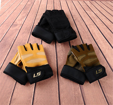 Gloves For Men Fingerless Army Gloves Climbing Bicycle Antiskid Fitness Gym Military Training