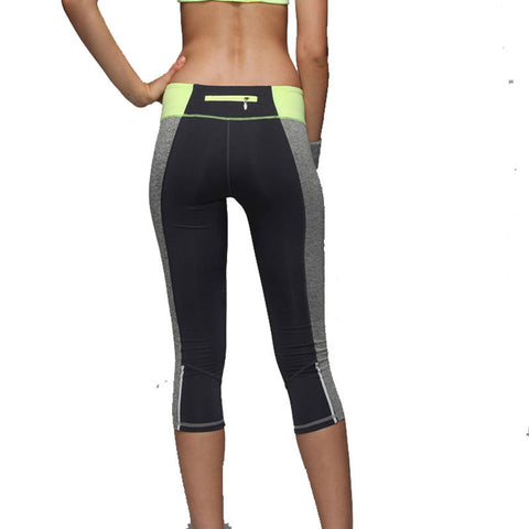 Women yoga Pants Sport Fitness Running Tights Quick Drying Compression slim trousers