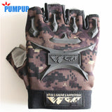 Men's Half Finger Gym Training Weight Lifting Gloves