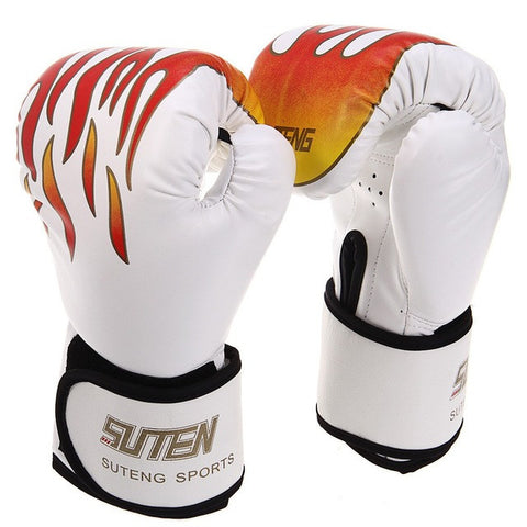 Boxing Gloves Top Quality PU Leather MMA Half Fighting Competition Training Gloves