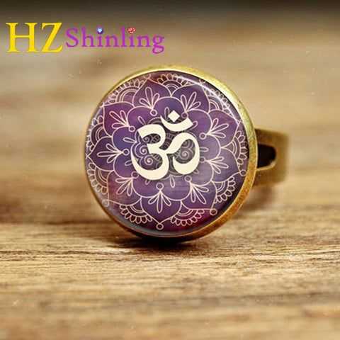 Purple Lotus Adjustable Yoga Ring For Women