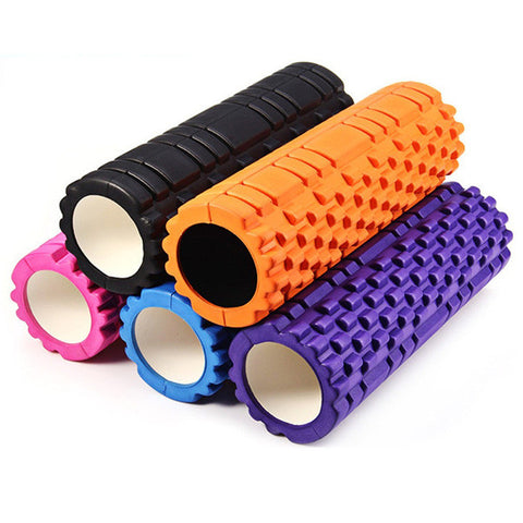 Eco-friendly Yoga Foam roller for Yoga pilates trainning fitness rollers with trigger points