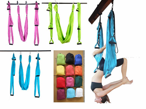 6 Colors Yoga Straps