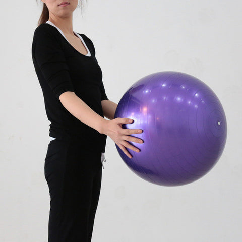 75cm 85cm 95cm Yoga Exercise Ball Balance Flexibility Strength Training Equipment Fitness Ball Gym Ball