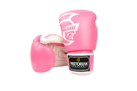 Pink Women MMA Training Boxing Gloves Muay Thai Mixed Martial Art