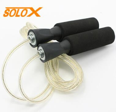 Aerobic Exercise Boxing Skipping Jump Rope Adjustable Bearing Speed Fitness 4 colors free shipping
