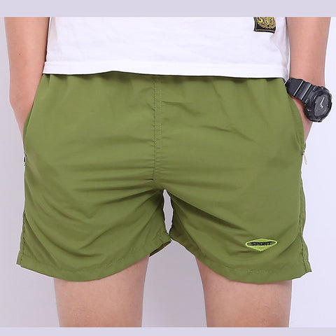 Men Basic Beach Short Spor Fitness Men's Gym Shorts Pants Running Fashion Trousers