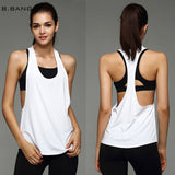 Women Sport Shirts Yoga Tops Sleeveless Fitness Running Clothes Quick Dry Breathable Tank Tops