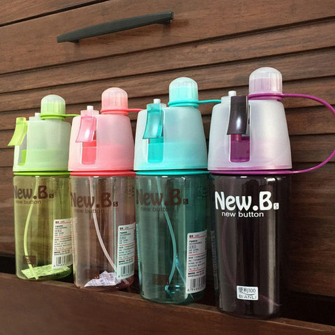 Creative Water Cup Sports Riding A Spray Water Bottle Space Cup Resistant Bottle