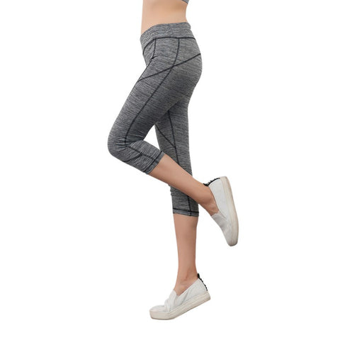 Women's Yoga Nylon Capris