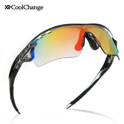 CoolChange Polarized Cycling Glasses Bike Outdoor Sports Bicycle Sunglasses