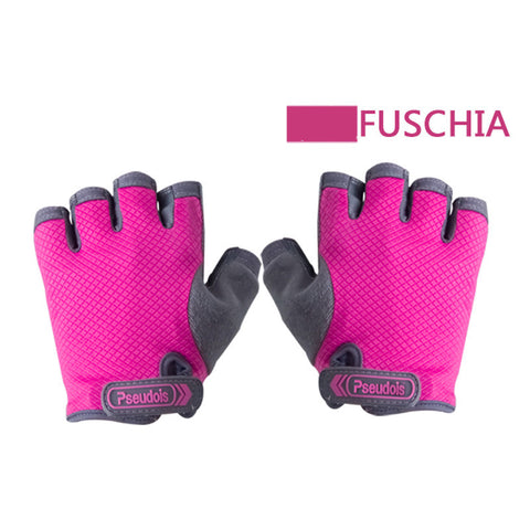 Fitness Gloves Cycling Anti-skid Protective Crossfit Gym Gloves Weight Lifting