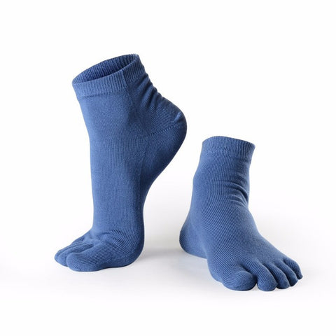 Five Finger Toe Socks Women Ankle Yoga Pilates Sport Nylon Colorful Men Sock Cotton