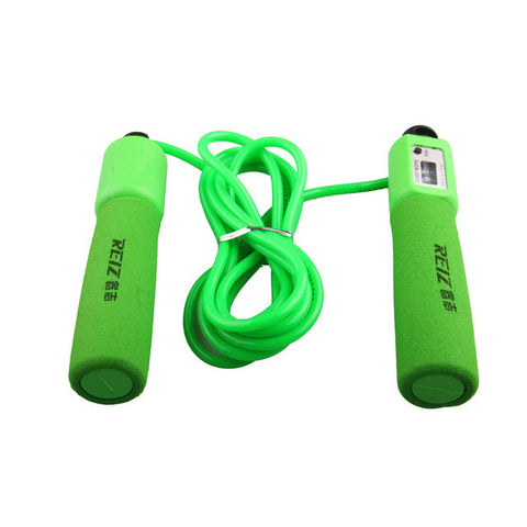 Free Shipping Crossfit Fitness Equipment Adjustable Sponge Handle Rope Jumping Bodybuilding Exercise Bearing Rope Skipping 393