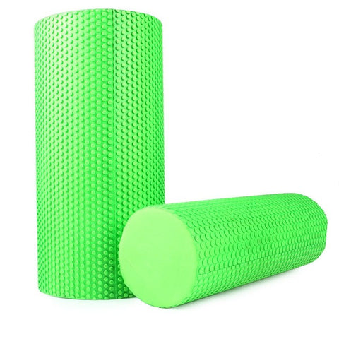 Yoga Pilates Fitness Foam Roller Physio Blocks Exercise Massage Gym