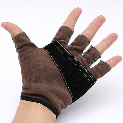 Gym Training Sports Weightlifting Fitness Bodybuilding Gloves With Breathable Wrist Wrap