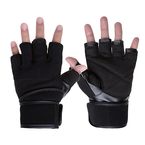 Training Fitness Gloves Weight lifting Gym Body Building Breathable Wrist Wrap Cycling Gloves