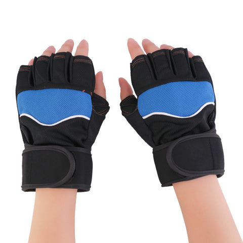 Gym Body Building Weight lifting Fitness Gloves Workout Exercise breathable Wrist Wrap
