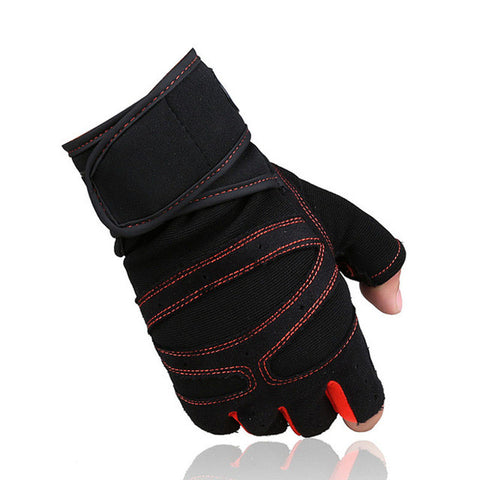 Gym Body Building Training Sports Fitness WeightLifting Gloves For Men And Women