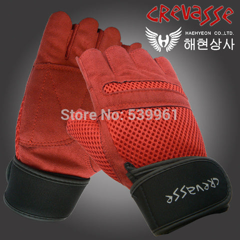 Gym BodyBuilding Men Training Fitness Gloves Weight lifting Workout Exercise breathable