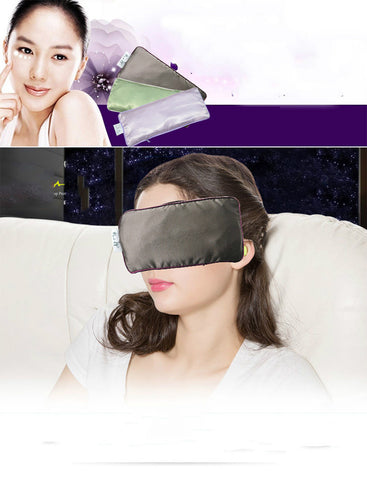 Lavender yoga eye pillow  steam heating heat ice compress eye protection function alleviate eye fatigue 24*10cm