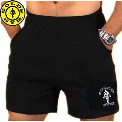 Mens Sport Shorts casual fitness golds gym men workout cotton skinny Running Yoga fight Short