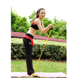 New Latex Resistance Training Bands Pull up Body Trimmer Exercise Pedal Exerciser Fashion Body Fitness Crossfit Yoga Equipment