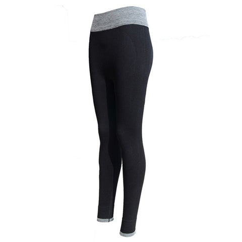 High Waist Stretched Sports Pants Gym Clothes Spandex Running Tights Women Sports Leggings