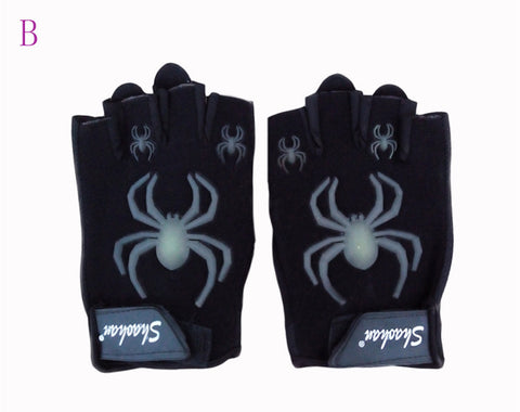 New Non-mainstream Gloves Exercise Men Women Sports gloves Half-finger Spider mittens glove gym luva Workout guantes G20
