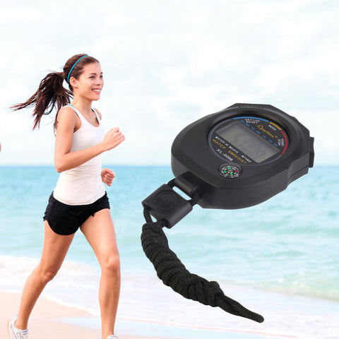 Waterproof Mini Digital Stopwatch