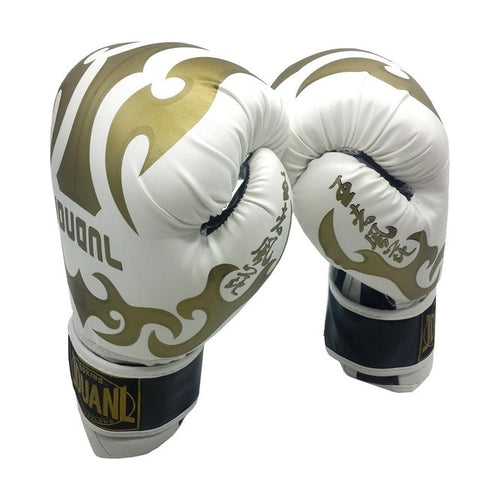 Original 3 colors 10oz PU mateial high quality breathable male fitness boxing gloves muay thai for adult