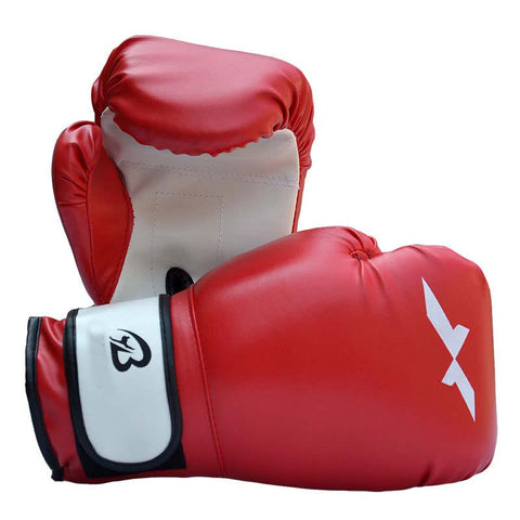 Professional Boxing Gloves 1pair Sports Fighting Golves MMA Boxing Glove PU Leather with EVA Lining for Training Competition SS
