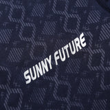 SUNNY FUTURE Brand clothing short sleeve Print mens t shirts fashion 2016 Summer running quick dry sports fitness t-shirts men