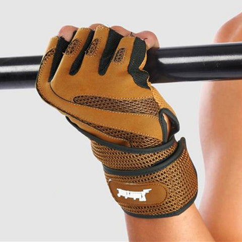 Sports Crossfit Gloves Barbell Bodybuilding Dumbbell Gym Gloves Fitness Gloves