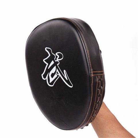 Sports Pro Boxing Mitts Training Coaching Target Pads Gloves Glve Muay Thai Kick MMA