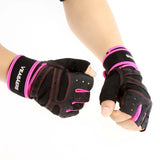 Sports Weight Lifting Gym Gloves Fitness Training Exercise Half Finger Glove For Women