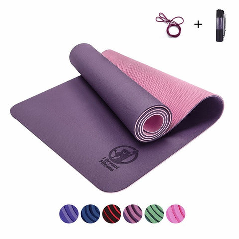 TPE Yoga mats fitness yoga gym exercise mats