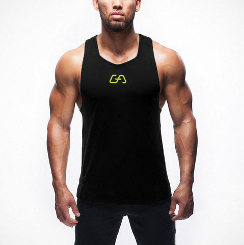 Top Quality  New Brand Gym Shark Mens Tank Tops Stringer Bodybuilding Equipment Fitness Men's GYM Tanks Sports Clothes Gymshark