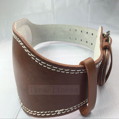 Gym Weightlifting Leather Belt