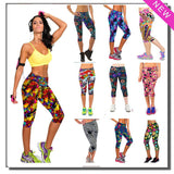 Women Workout Sports Yoga Leggings Bodybuilding And Running Fitness Clothing Gym Lulu Pants Girls Slim Clothes For Female Sport