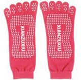 Women Yoga Toes Socks Gym Dance Sport Exercise Five Fingers Non Slip Fitness