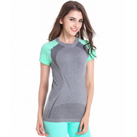 Short Sleeve Sports Quick Dry T-shirt